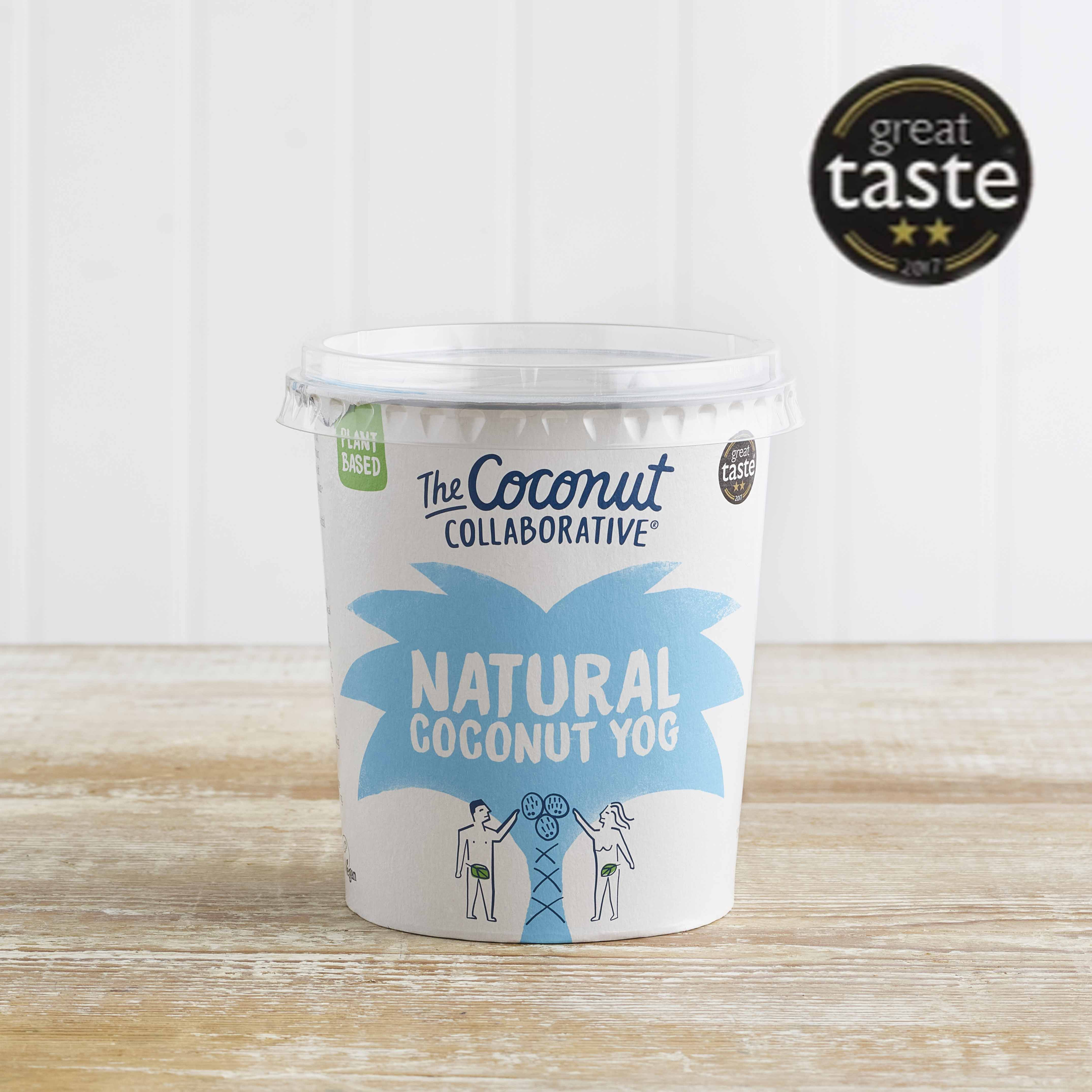 The Coconut Collaborative Dairy Free Natural Yoghurt Alternative, 350g