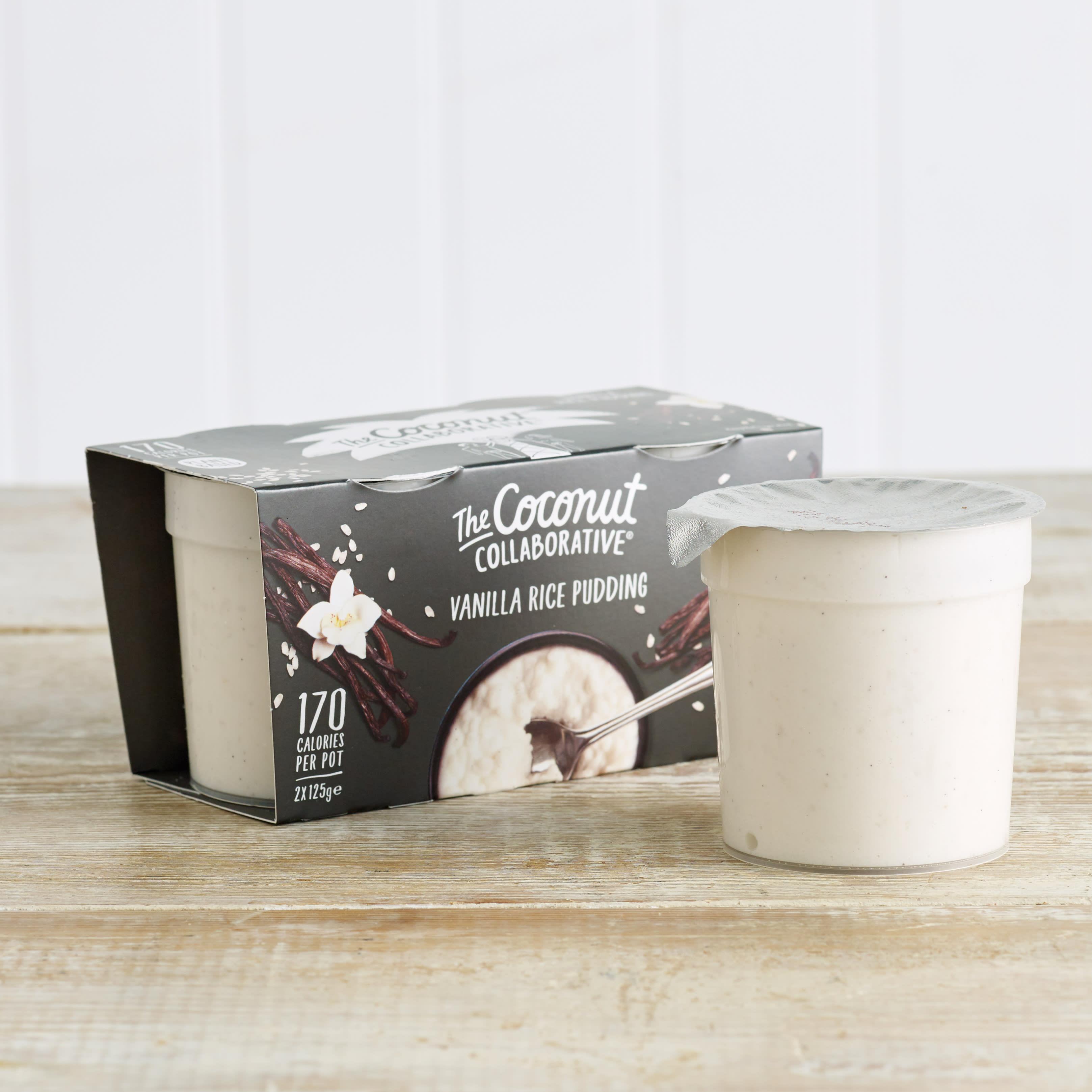 The Coconut Collaborative Dairy Free Vanilla Rice Pudding, 2 x 125g