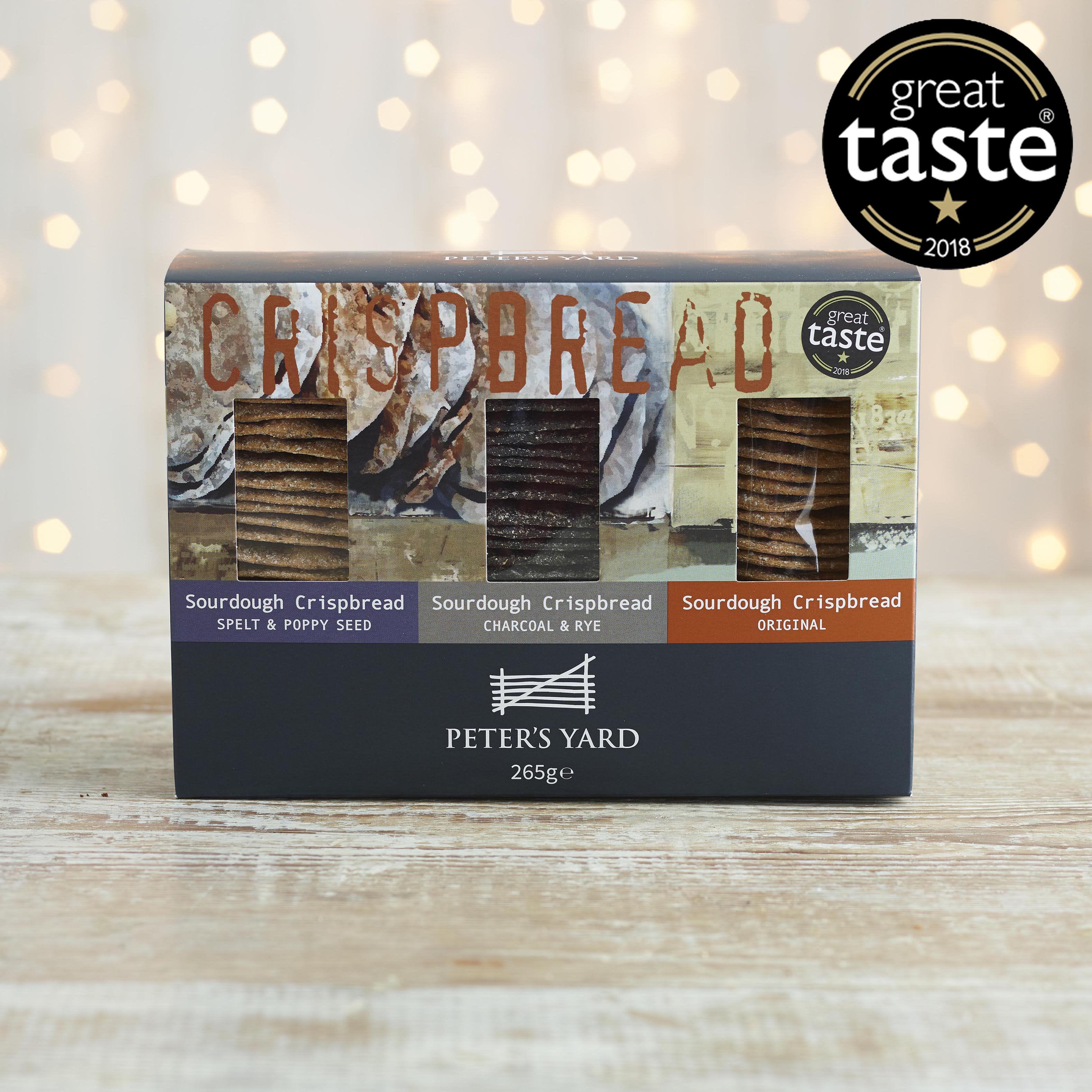 Peter's Yard  Sourdough Crispbread Selection Box, 265g