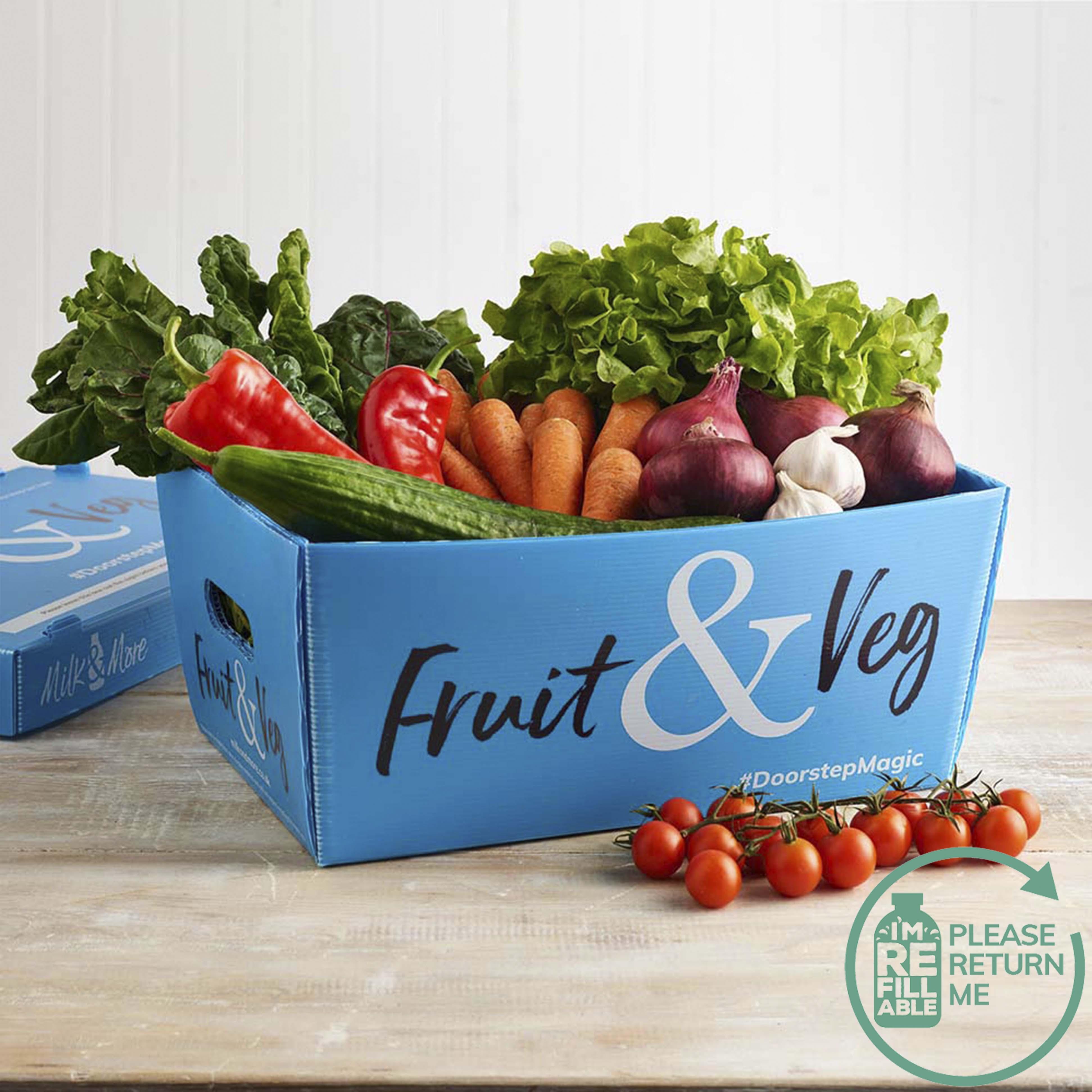 Premium Organic Veg Box