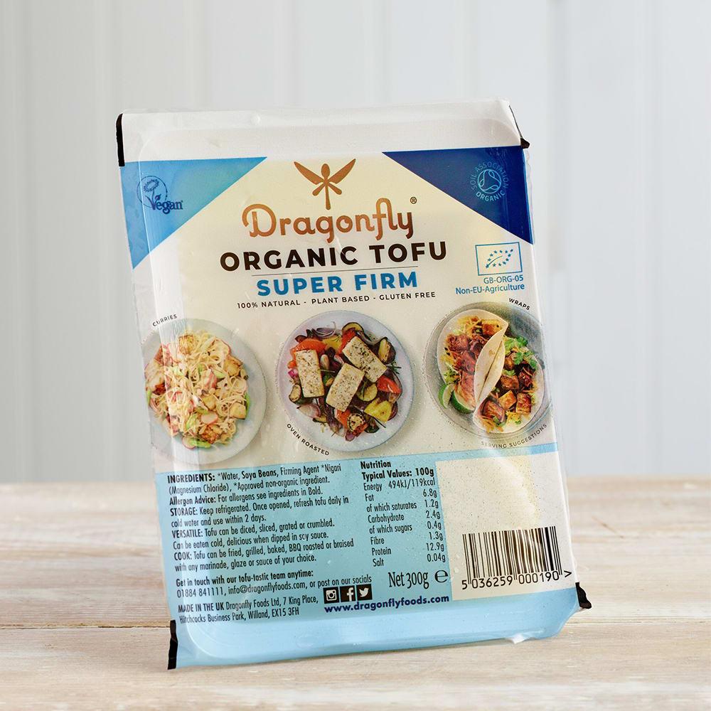 Dragonfly Organic Natural Superfirm Tofu, 300g