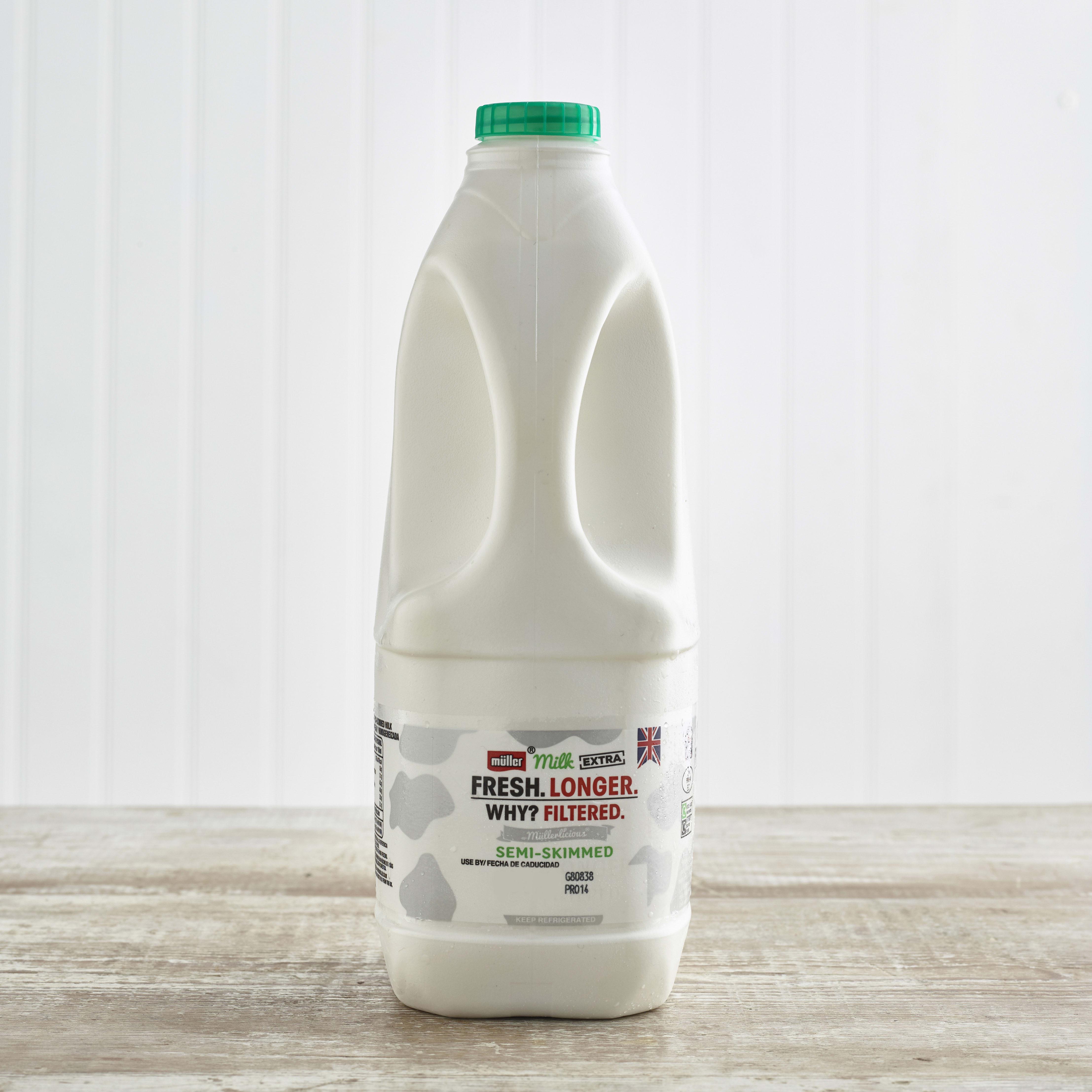 Muller Milk Extra Semi Skimmed Milk, 2LTR