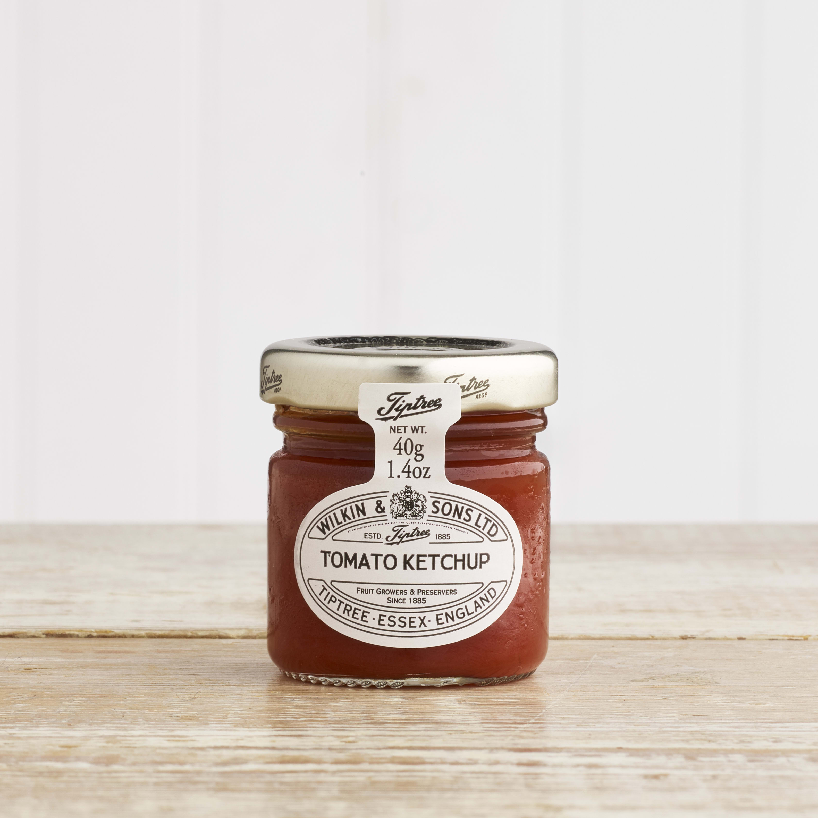Tiptree Tomato Ketchup in Glass, 28g