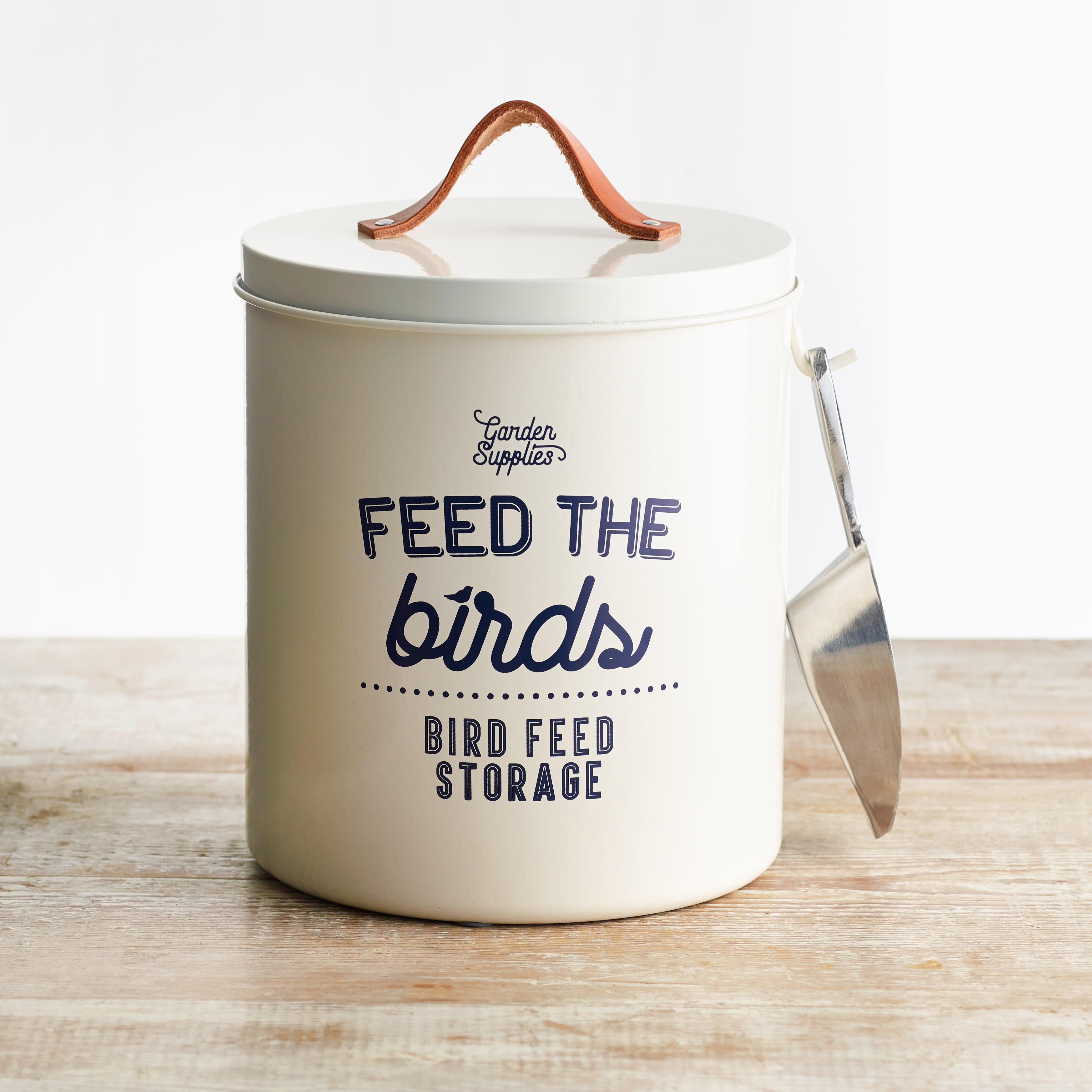 Burgon & Ball 'Feed the Birds' Bird Food Tin