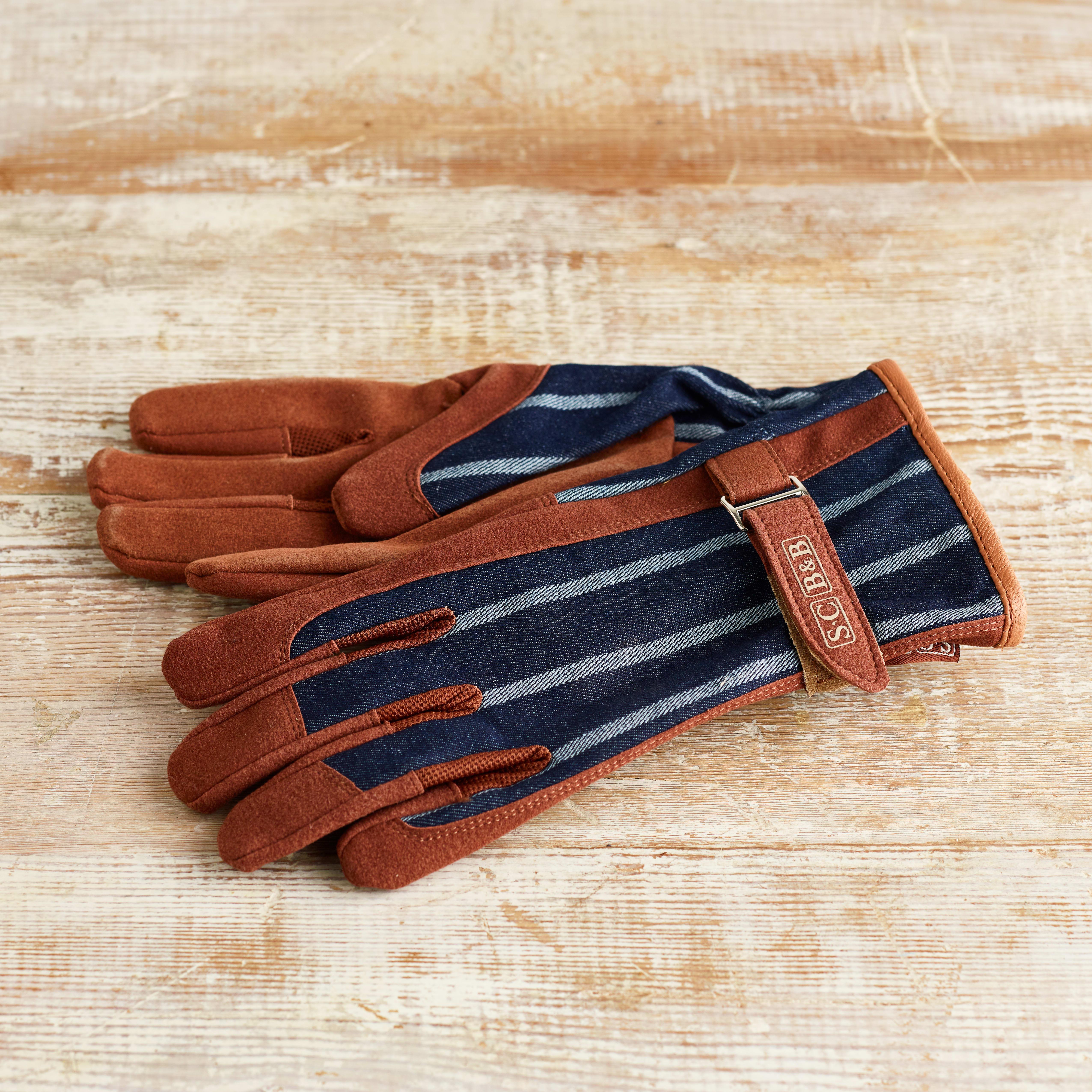 Sophie Conran Striped Gardening Gloves