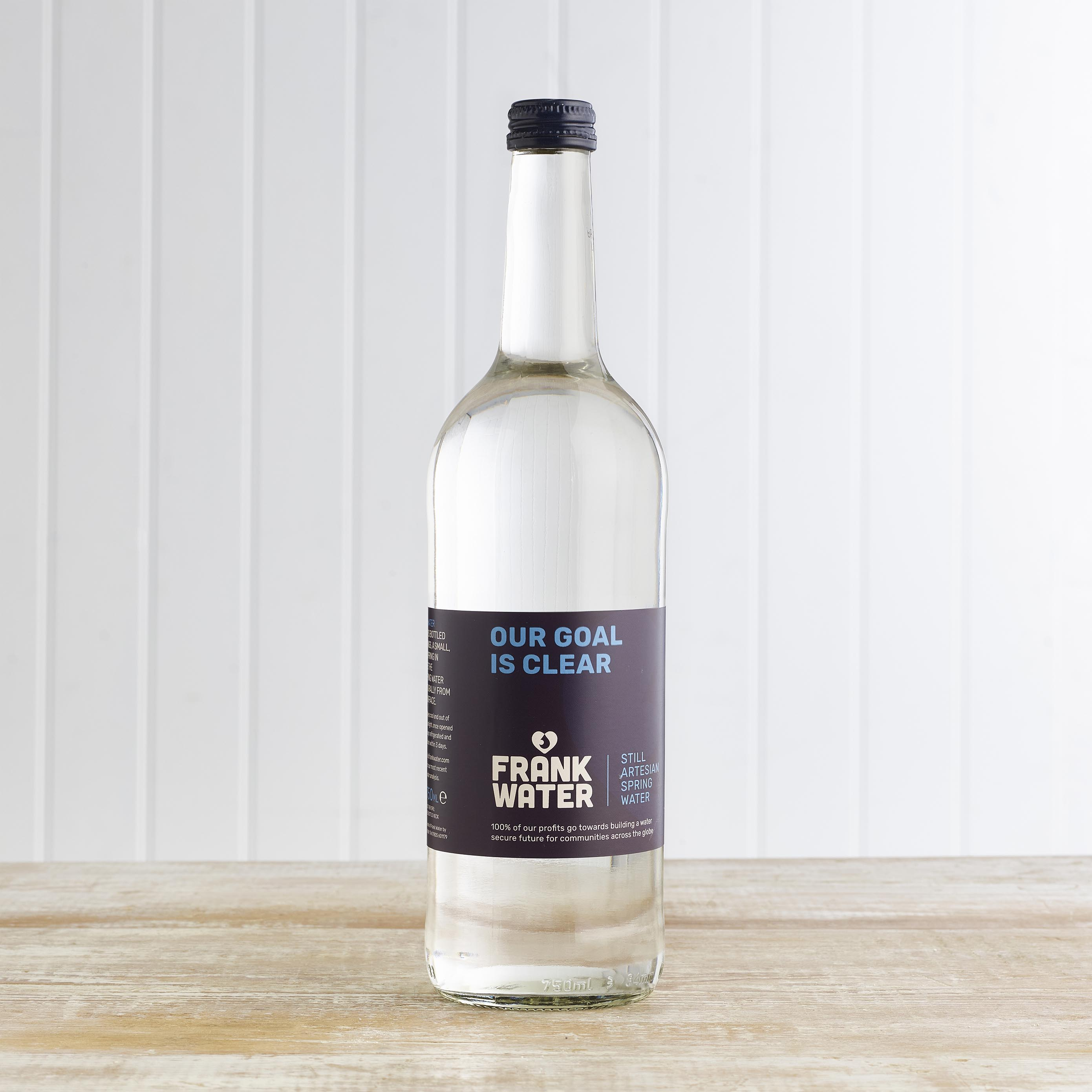 FRANK Water (Still) in Glass, 750ml
