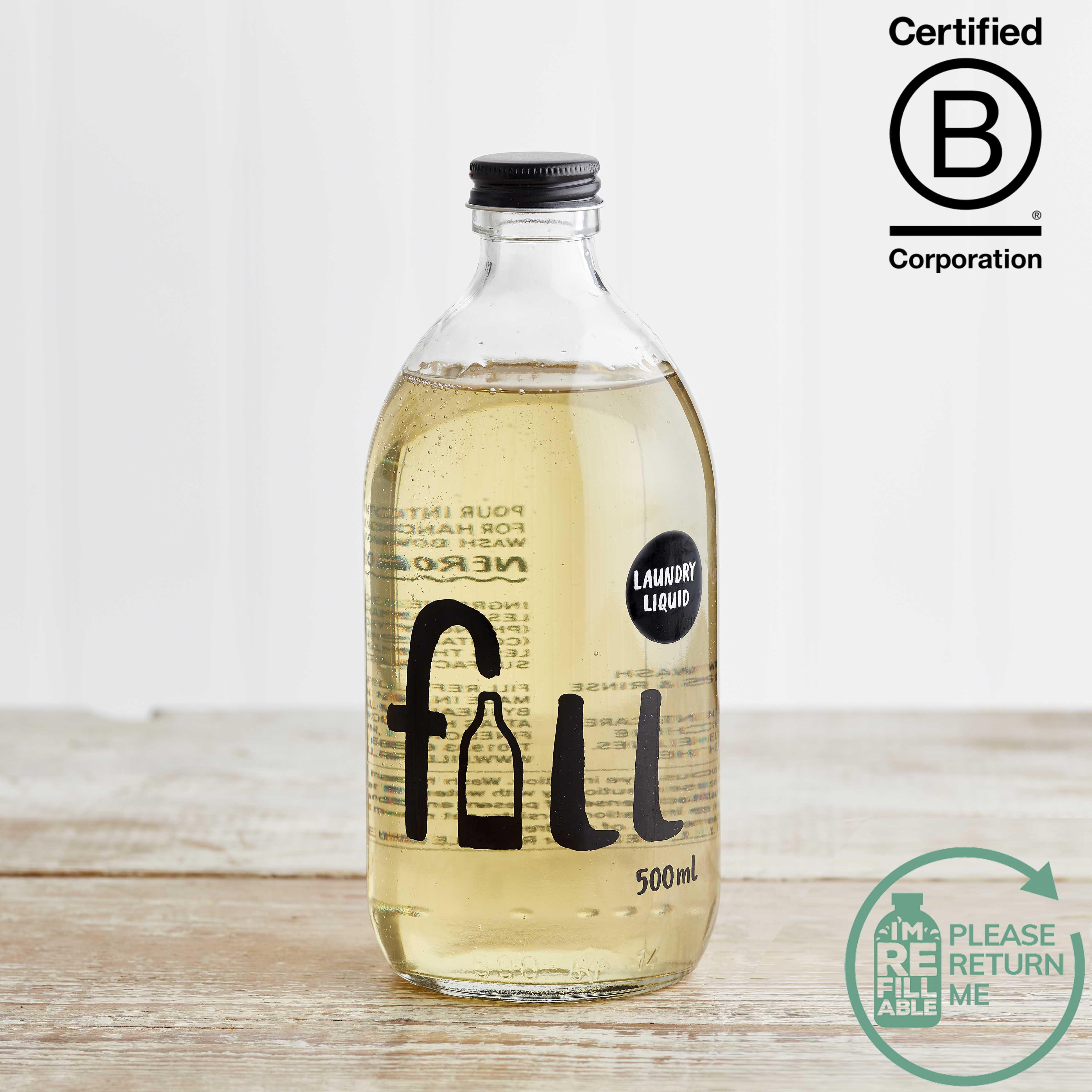 Fill Laundry Liquid Neroli in Glass, 500ml