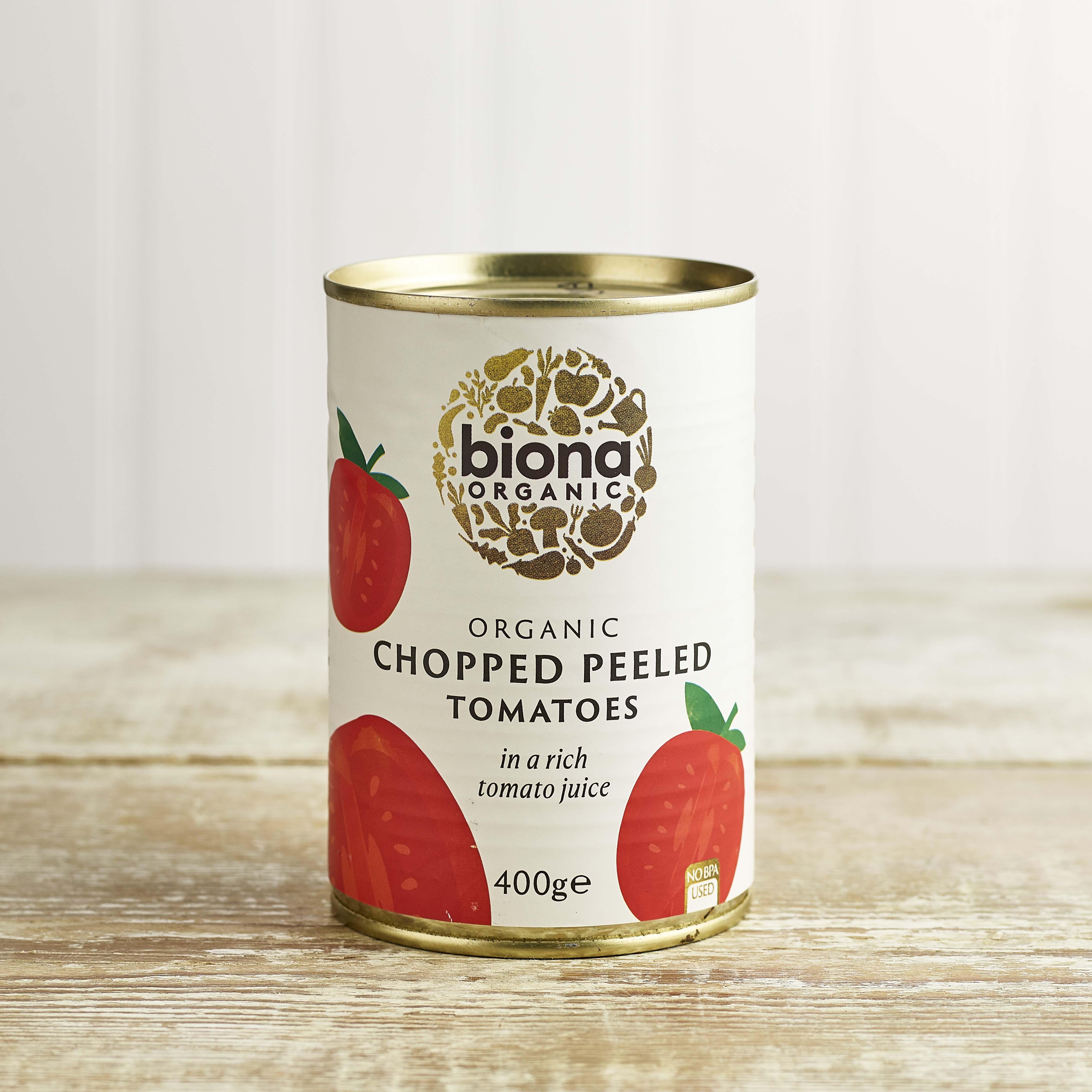 Biona Organic Chopped Tomatoes, 400g