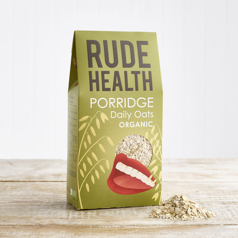 Rude Health Organic Porridge - Daily Oats, 500g