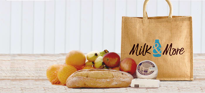 Get a free hessian bag when you spend £20 on a single days order.