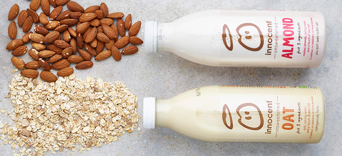 Wonderful dairy free milk alternatives delivered to your door by 7am with Milk & More