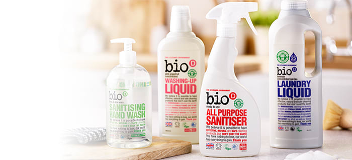 Eco-friendly cleaning products delivered to your door with Milk & More