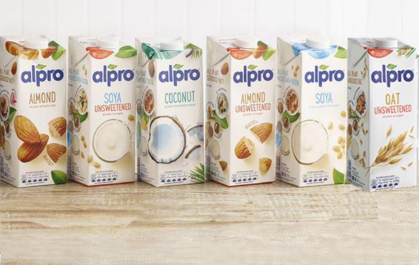 Alpro alt milks