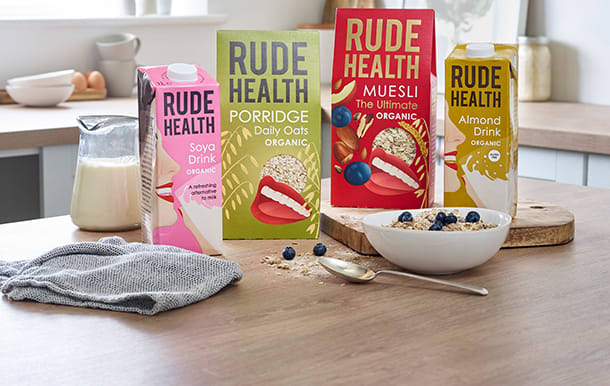 Rude Health dairy alternatives