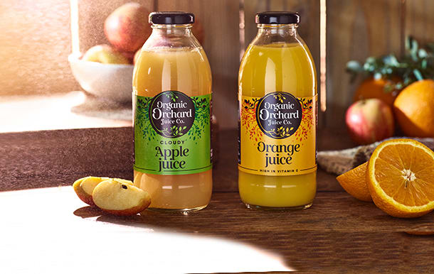 Organic Orchard juices