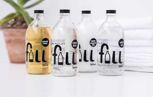 Fill's refillable bottles