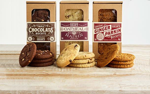 Lottie Shaw's artisan biscuits