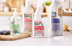 Eco friendly cleaning products from Bio-D