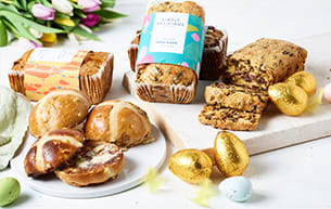 Hot cross buns from Milk & More
