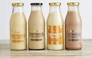 Tom Parker's Flavoured Milk Range