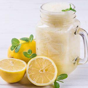 Lemon Cheesecake Milkshake