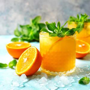 Orange Beer Mocktail