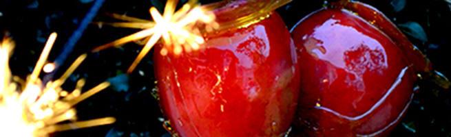 Sticky Honey Apples