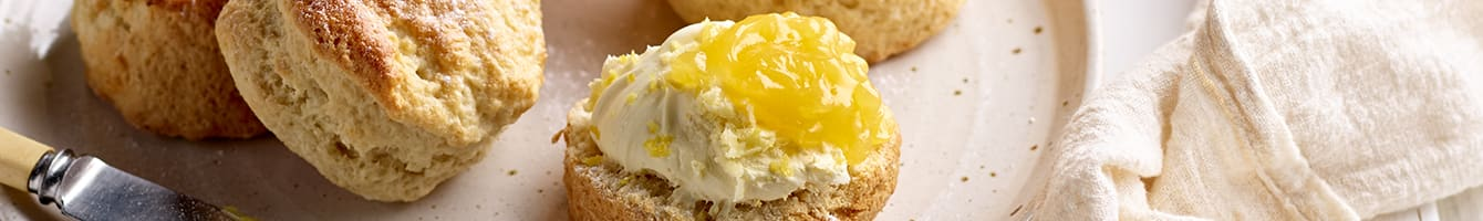 Lemon and Yoghurt Scones Recipe