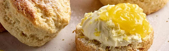 Lemon Yoghurt Scones