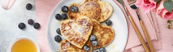 Valentines Day French Toast
