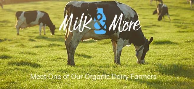 organic Milk & More dairy farmer