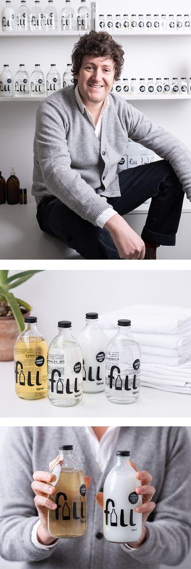 Fill refillable bottles