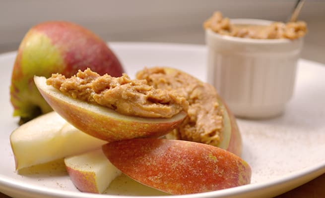 Peanut Butter Apple Slices