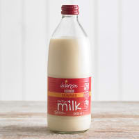 Delamere Sterilised Skimmed Milk in Glass, 500ml