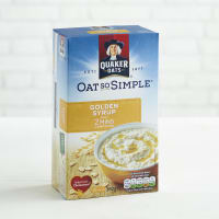 Quaker Oat So Simple Golden Syrup, 10 x 36g