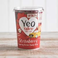 Yeo Valley Organic Strawberry Yoghurt, 450g