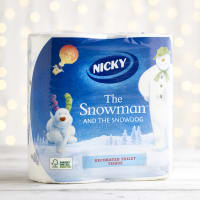 Nicky The Snowman and the Snowdog Toilet Tissue, 4pk