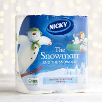 Nicky The Snowman and the Snowdog Kitchen Towel, 2pk