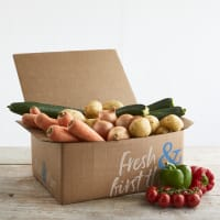 Organic Vegetable and Salad Box