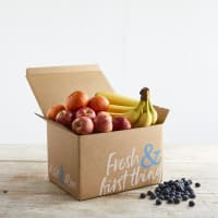 Organic Fruit Box with Fairtrade Bananas