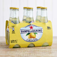San Pellegrino Limonata Glass Bottle, 6 x 200ml