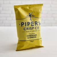 Piper's Crisps Lye Cross Cheddar & Onion, 150g
