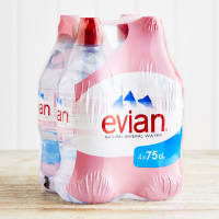 Evian Action 75cl 4 Pack