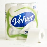 Velvet Comfort Toilet Tissue9 per pack