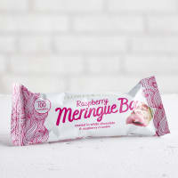 Flower & White Raspberry Meringue Bar, 23.5g