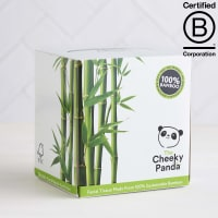 The Cheeky Panda Bamboo Facial Tissue Cube