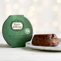 Roots & Wings Organic Mini Christmas Pudding, 100g