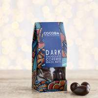 Cocoba Dark Chocolate Covered Brazil Nuts, 175g