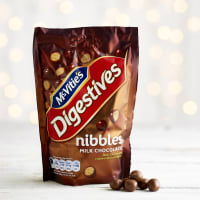 McVitie's Milk Chocolate Digestives Nibbles, 120g