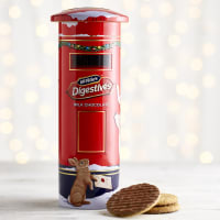 McVitie's Milk Chocolate Digestives Post Box Tin, 400g